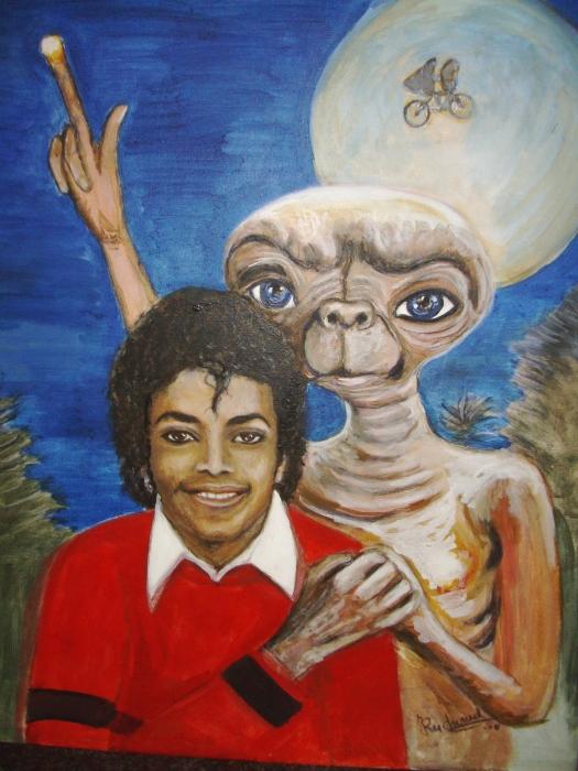 Michael Jackson, E.T. par joceruchonnet